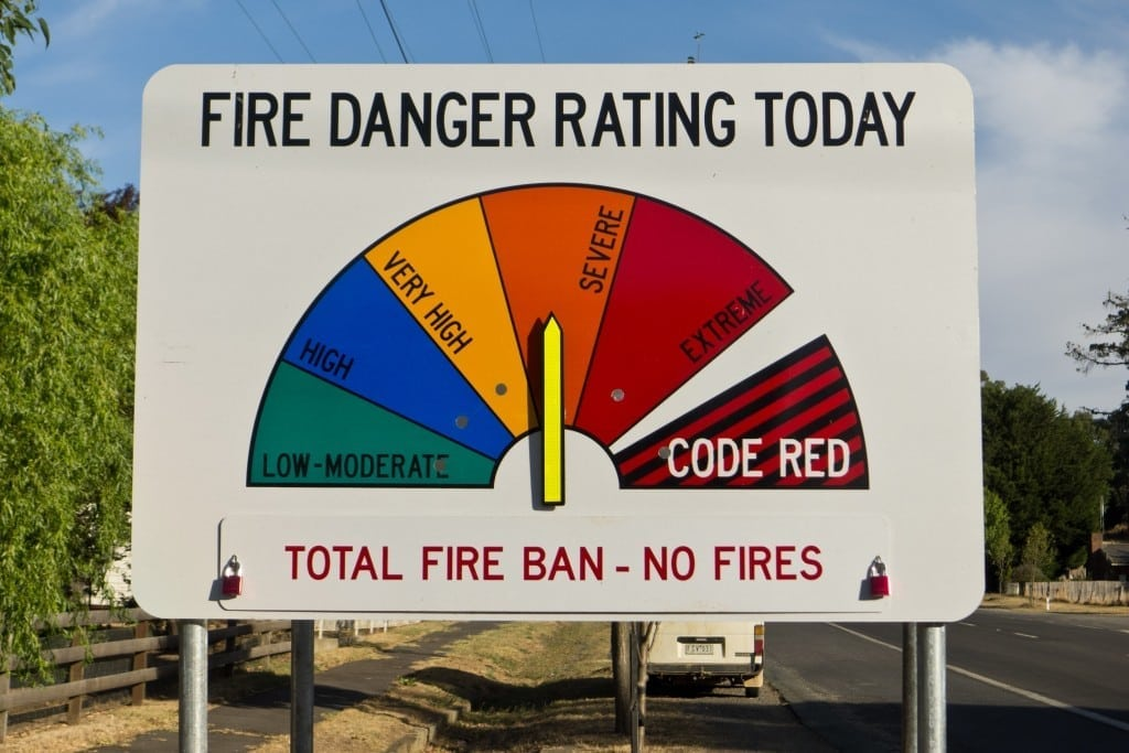 9 February 2012 was the third Total Fire Ban in four days in the North Central district of Victoria.